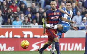 El Barça no pasó del empate ante el Espanyol