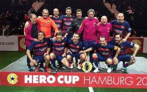 El FC Barcelona Legends, campeón en Hamburgo