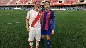Natalia Pablos y Vicky Losada se reencontraron en el Mini