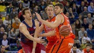 Víctor Claver y el Barça afrontan la primera final en los play-off de la Liga Endesa