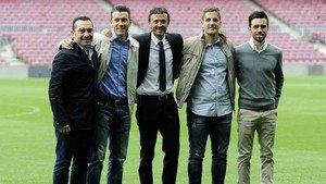 Luis Enrique y su cuerpo técnico dejan el Barcelona