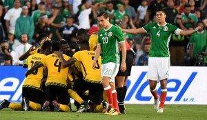 Infantino presenció el México - Jamaica