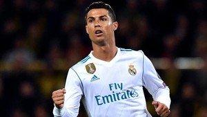 Cristiano celebra su gol en Dortmund
