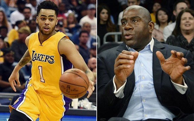 Magic Johnson trabajar� junto a D'Angelo Russell