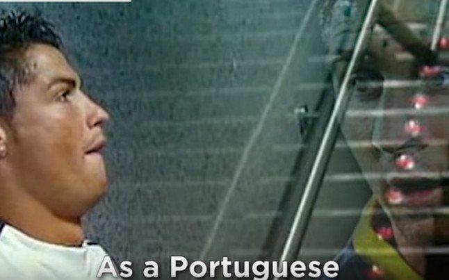 As� ser�a la bella historia de amor entre Cristiano Ronaldo y Messi