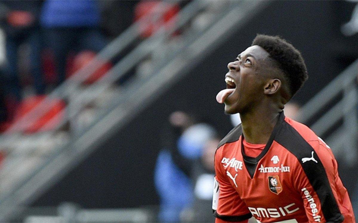 La emotiva historia de superaci�n de Ousmane Demb�l�, objetivo del FC Barcelona
