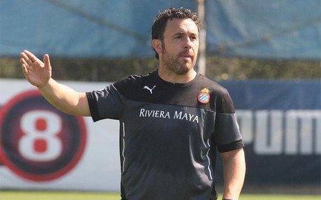 Sergio espera sacar al Espanyol del bache