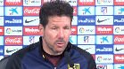 "Simeone sobre Las Palmas: \""Va a ser un rival duro, difícil\"""