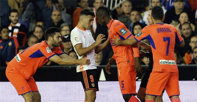Video resumen Valencia - Granada (1-1). Jornada 12 Liga Santander 2016-17