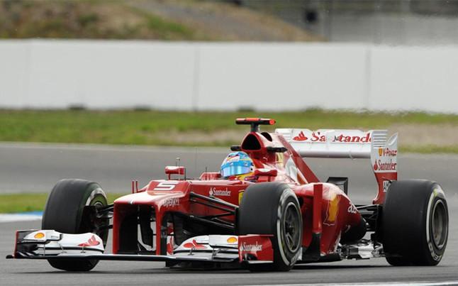 Fernando, lider del mundial, en Hockenheim.