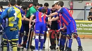 El Barça Lassa salió airoso de su visita al Caldes