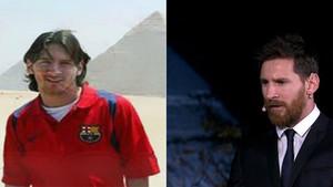 Messi, de 2007 a 2017, en Egipto