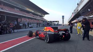 Daniel Ricciardo, en el Circuit