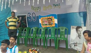 En la India han celebrado el cumpleaños de Messi
