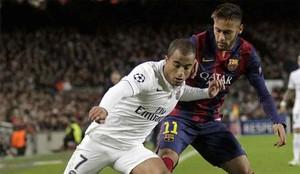 Neymar y Lucas Moura son amigos