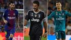 Messi, Buffon y Cristiano Ronaldo optan al premio de Mejor Jugador de la temporada 2016-17 para la UEFA