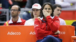 Conchita Martínez deja la capitanía de la Davis y la Fed Cup