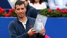 Albert Ramos recibió el homenaje del público y de su club tras 18 años en el circuito