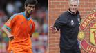 Andr� Gomes, jugador del Valencia, y Jos� Mourinho, entrenador del Manchester United