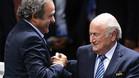 Blatter y Platini recurrirán al TAS