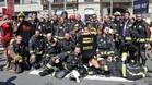 Los bomberos se preparan a conciencia para la Cursa