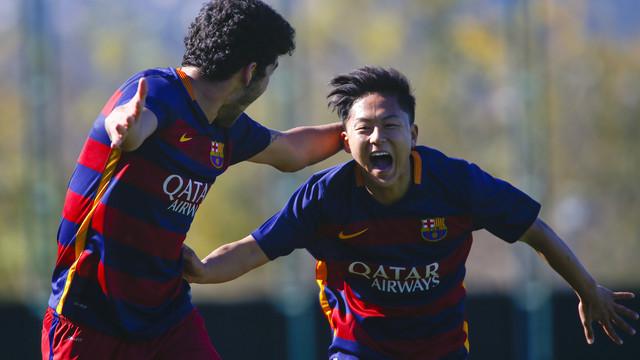 Divisi�n de honor juvenil. FC Barcelona, 5 - Lleida, 1
