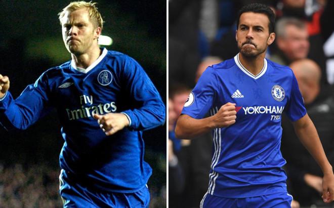 Gudjohnsen y Pedro, goleadores m�s r�pidos del Chelsea en los �ltimos tiempos.