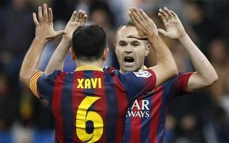 Iniesta es el más popular y Xavi, el octavo en el 'ranking'