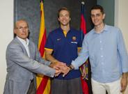 Koponen pas� la revisi�n m�dica y ser� jugador del Barcelona durante las pr�ximas 3 temporadas