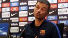 Luis Enrique no se atreve a asegurar la renovación de Messi