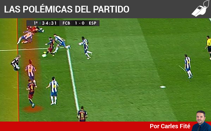 FC Barcelona v RCD Espanyol. Jornada 37 de Liga. Hoy a las 17:00 (GMT + 1). Mal-arbitraje-gil-manzano-1462722310410