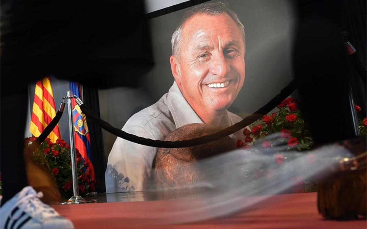 Sigue el homenaje a Cruyff en directo