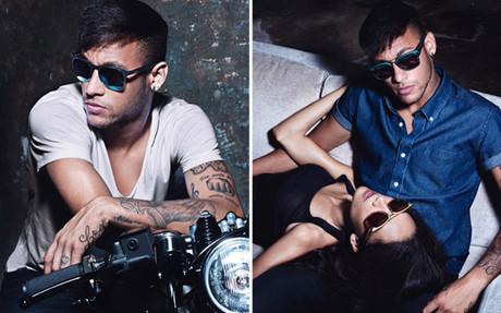 Neymar, en dos im�genes de la campa�a