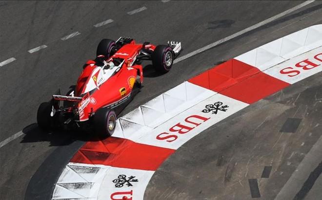 Sebastian Vettel fue el mejor en los libres de M�naco