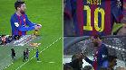 El Camp Nou se cayó con el cambio de Leo Messi
