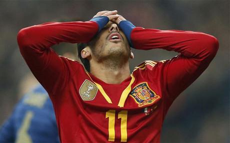 Pedro se lesionó en el Francia-España