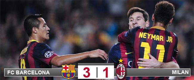 El Barça, a octavos sin despeinarse