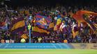 El público del Camp Nou pitó el himno de la Champions