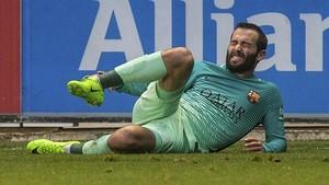 Aleix Vidal es el único lesionado de larga duración del Barça