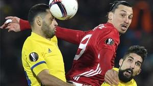 Ibrahimovic dio el pase del gol del United