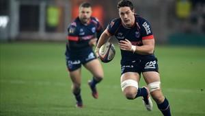Rory Grice, durante un partido del Grenoble