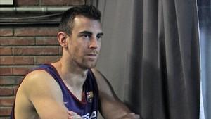 Víctor Claver pasó por el quirófano y estará cinco meses de baja