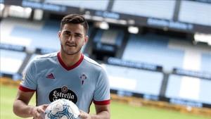 Maxi Gómez, ilusionado con su llegada al Celta