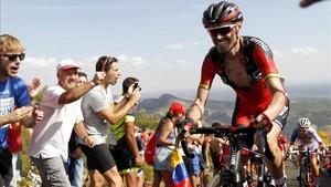 Samuel Sánchez se queda sin Vuelta tras dar positivo