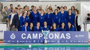 Las chicas dell Sabadell reaccionaron a tiempo para llevarse la Supercopa