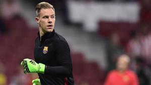 Ter Stegen admite que es feliz en el Barcelona