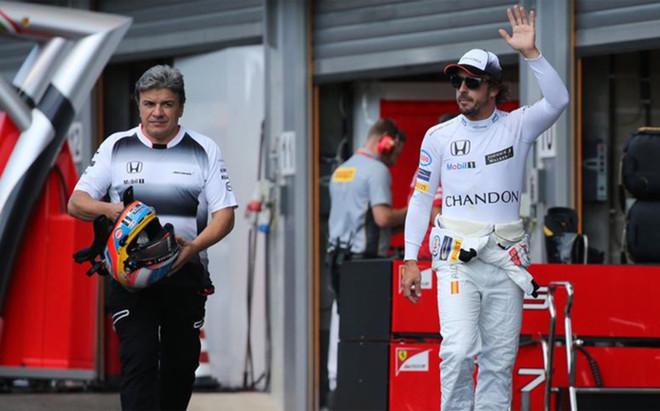 Alonso acab� contento en el GP B�lgica