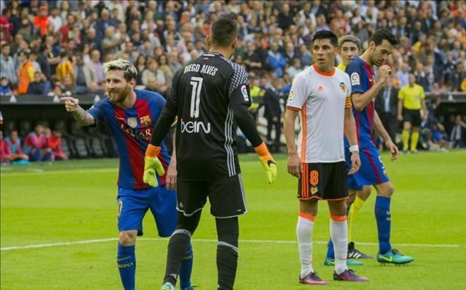 El Bar�a tambi�n se llev� los tres puntos de Mestalla el s�bado
