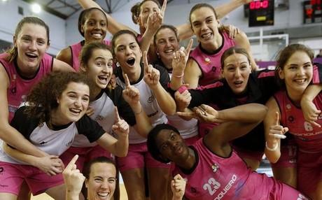 El Club Baloncesto Conquero ha obrado un peque�o 'milagro' en San Sebasti�n