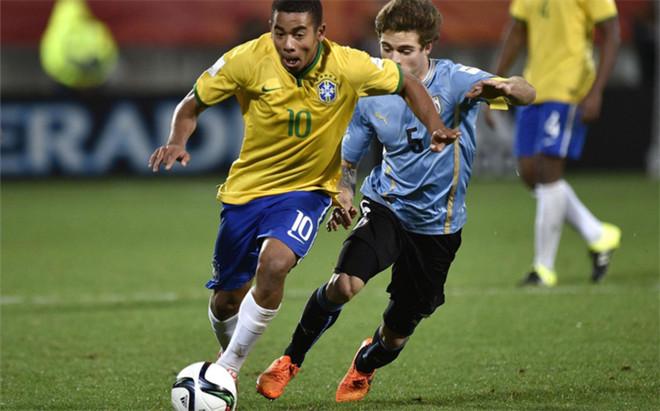 Gabriel Jesus, jugador del Palmeiras
